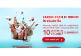 10 x voucher de vacanta in valoare de 500 euro