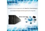 1 x Hosting + domeniul .com .net .org .info .biz .eu (la alegere), 2 x pachet hosting Smart Bronz pentru 1 an