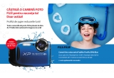 1 x aparat foto subacvativ Fujifilm FinePix XP80 Blue
