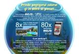 8 x sejur in Delta Dunarii pentru 2 persoane, 80 x abonament pe o luna la EVZ Premium