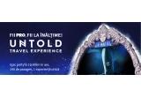 1 x 2 bilete de avion pana la Cluj + 2 abonamente VIP Pass la Untold