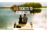 1 x 2 bilete de avion la Edmonton