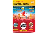 1 x 1 an de cumparaturi gratuite, 1 x Sejur cu familia in insulele Seychelles, 1 x masina SUV Dacia Duster, instant vouchere Billa de 3/6/9/15 ron