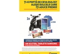 1 x scuter, 10 x tableta Samsung, 1550 x tricou Rom, 60.000 x premiu Rom/Fagaras/Magura