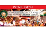 1 x Excursie cu familia in SUA la Disneyworld și Universal Studios, 100 x voucher Kaufland de 500 ron