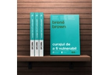"3 x carte ""Curajul de a fi vulnerabil"" de Brené Brown"