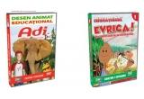 un DVD Adi in lumea animalelor &#351;i un DVD Evrica! - descoperiri care ne-au schimbat viata, un DVD Adi in lumea animalelor, un DVD Evrica! - descoperiri care ne-au schimbat viata <br />