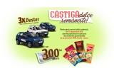 3 x masina Dacia Duster, instant 300 lei pe ora
