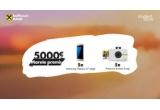 1 x 5000 euro, 5 x smartphone Samsung Galaxy S7 Edge, 5 x camera foto Polaroid Instant Snap