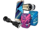 1 x smartphone Samsung S7 + Oculus VR, 3 x Hoverboard, 5 x Bicicleta Mountain Bike, 30 x Ghiozdan Herlitz Motion, 10.000 x Caiete Herlitz