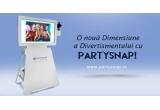 1 x sesiune fotodivertisment cu PartySnap + 50 de bucati suporti pentru foto magnetice