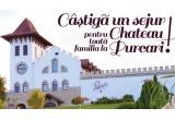 1 x sejur pentru 2 persoane si copii la Chateau Purcari + vizita in crama si via Purcari + degustare de vinuri, 1 x bax de 6 sticle de vin Purcari Rara Neagra, 1 x bax de 6 sticle de vin Purcari Rose