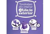250 x bicicleta Scirocco, 350 x laptop Acer, 2000 x ghiozdan Milka