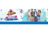 1 x Tableta Samsung, 1 x Pereche Casti Soy Luna, 10 x Kit-uri Back to School Soy Luna