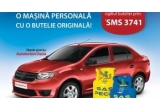 1 x masina Dacia Logan, 550 x butelie GPL aragaz