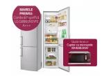 1 x Combina frigorifica LG GBB60NSYFE A+++, 4 x Cuptor microunde LG MH6883AAF
