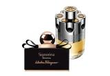 1 x parfum Salvatore Ferragamo Signorina Misteriosa 50 ml Eau de Parfum, 1 x parfum Azzaro Wanted 50 ml Eau de Toilette
