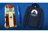 1 x aparat popcorn Paramount, 5 x hoodie + umbrela