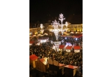 "3 x weekend la Sibiu la Targul de Craciun, 12 x colectie de discuri CD ""Christmas Stars & The City"""