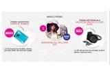 1 x buget pentru garderoba 1 an intreg in valoare de 3000 Euro, 550 x protectie pentru urechi cu casti audio, 5000 x pernuța termica Zewa