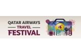 1 x 2 bilete de cǎlǎtorie in jurul lumii, 16 x 2 bilete in cabina Economy + cazare oferita de Qatar Airways Holidays, 2 x tricou cu semnǎturile jucǎtorilor FC Barcelona + pereche de bilete la un meci FC Barcelona, 16 x 2 bilete in cabina Economy + cazare oferita de Qatar Airways Holidays, 40 x 100.000 Qmile, 80 x 50.000 Qmile, 8 x Card Privilege Club Gold, 16 x Card Privilege Club Silver, 80 x Bilet de avion gratuit, 8 x Voucher Vitality Wellbeing si Fitness Centre pentru folosirea in Hotelul Aeroportului Hamad International din Doha, 160 x Upgrade la Business Class, 32 x Acces la Salonul Al Maha, 96 x Voucher Qatar Duty Free de 50 dolari USD, 48 x Voucher Qatar Duty Free de 100 dolari USD, 8 x Voucher pentru inchirierea unei masini de 50 dolari USD, 8 x Voucher pentru inchirierea unei masini de 25 dolari USD