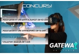 1 x abonament VR Enthusiast de 10 ore, 1 x abonament VR Standard de 5 ore, 1 x voucher de joaca de 1 ora