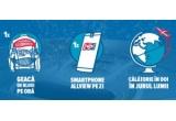 1 x calatorie in jurul lumii pentru 2 persoane, 74 x smartphone Allview, 592 x geaca de blugi Pepsi