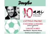 1 x excursie la Madrid pentru 2 persoane + 2 bilete VIP Hospitality la meciul Real Madrid vs Deportivo Alavés