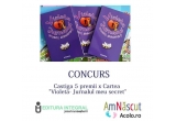 "5 x cartea ""Violeta - jurnalul meu secret"" oferita de Editura Integral"