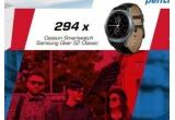 7 x excursie pentru 2 persoane in Anglia, 294 x ceas Smartwatch Samsung Gear 2 Classic, 5000 x card eMag de 50 lei