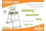 1 x scaun de masa Joie Mimzy Snacker 123