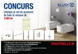 1 x set complet de accesorii de baie Kludi A-XES de 1300 lei