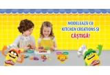 5 x multicooker Philips, 10 x Storcator de fructe Philips, 10 x Mixer Vertical Philips, 1250 x cande super-plastilina Play-Doh