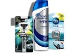 1.000 x pachet cadou de majorat ce conține: aparat de ras Gillette Mach 3 + șampond Head&Shoulders + odorizant Ambi Pur pentru mașina