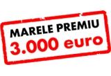500 x card cadou de 100, 1500 x card cadou de 230 ron, 40 x voucher eMag de 1500 ron, 1 x 3000 euro