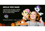 2 x premiu constand in oportunitatea de a dubla personaje in productia My Little Pony: Filmul, 1500 x figurina ponei oferita de Hasbro, 1 x excursie Green Villlage Resort 4* Sfantu Gheorghe - Tulcea cu demipensiune