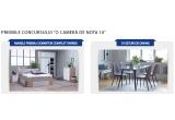 1 x Dormitor FAVRBO in valoare totala de 5394 lei, 10 x set de dining compus din masa OLLERUP + 4 scaune JONSTRUP