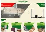 1 x voucher Mobexpert in valoare de ll454lei, 61 x premiu zilnic constand in Serviciu de masa + Set tacamuri/Aparat de facut paine + Razatoare branzeturi/ Storcator fructe si legume + Set platouri din lemn 6 farfurii/ Set cutite bucatarie + Tocator branza/ Robot de bucatarie + Set cutite branza/ Prajitor paine + Cutie din bambus pentru paine/Sandwich maker + Set servire branzeturi, 1 x Televizor LED Philips 108 cm 43PFT4l12l12 Full HD, 3 x Home Cinema Samsung HT-J5550 Blu-Ray, 3 x Combina frigorifica Arctic ANK366NFS+, 2 x Televizor Smart LED Philips 43PFS5301/12,