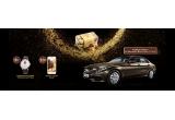 8 x Ceas Frederique Constant Slimline Heart Beat, 10 x iPhone 7 Gold 32 GB, 1 x masina Mercedes-Benz Clasa C 220 d