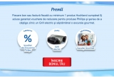 garantat: voucher reducere de 45% la produse electrocasnice Philips, 61 x Grill electric Philips HD4467/90, 9 x voucher excursie gourmet de 2000 euro