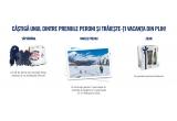 1 x excursie pentru 2 persoane in Cortina d'Ampezzo, 7 x Kit de iarna care include manusi + fular + 6 sticle de Peroni, 45 x Pachet aniversar Peroni cu 5 sticle de Peroni + pahar Peroni