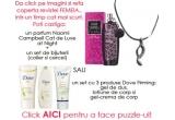 <p> 10 x un set de produse DOVE Firming (gel de dus, lotiune de corp si gel-crema de corp) , un parfum Naomi Campbell &quot;Cat de Luxe at night&quot; si bijuterii ( colier si cercei ) <br /> </p>