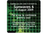 <p> 5 invitatii la Sunwaves 6<br /> </p>