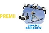 15 x Drona cu ochelari virtuali