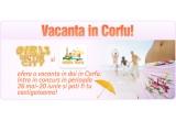 <p> o vacanta in Corfu in 2 <br /> <br /> </p>