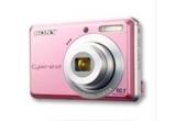 o camera foto digitala Sony CyberShot cu rezolutie de 7.2 megapixeli<br />