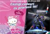 <p> 400 x jucarie Hello Kitty, 400 x robot Transformers</p>