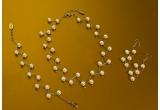 <p> 5 x seturi de bijuterii TRIA ALFA ( colier, bratara , cercei)<br /> </p>