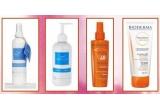 3 pachete formate din produse cosmetice oferite de Bioderma, un set de produse Natura Spa<br />