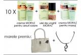 10 x un set de produse MORAZ, o geanta si un set de bijuterii <br />